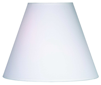 "6.5"" WHT RND Lamp Shade"