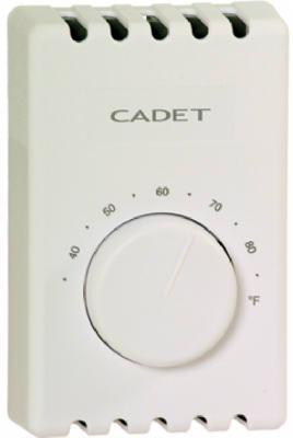 WHT DBL Pole Thermostat