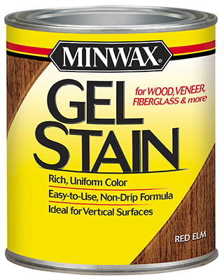 1/2PT RED Elm Gel Stain