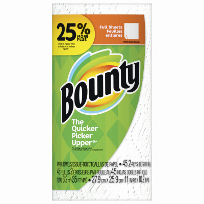 Bounty SGL WHT Towel