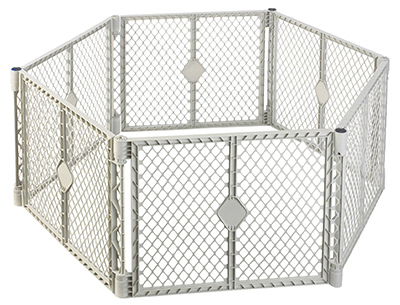 6Panel GRY Pet Yard