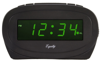 0.6 GRN LED Alarm Clock