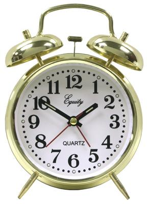 Keywind Twinbell Clock