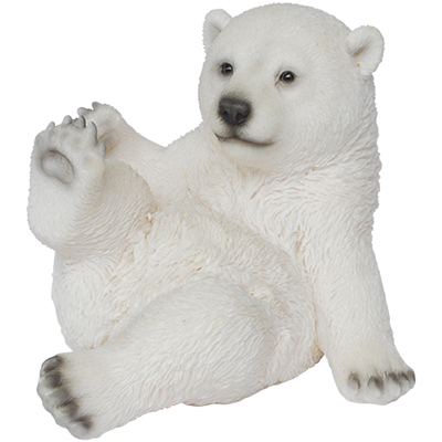 "7"" Sitting Polar Bear"