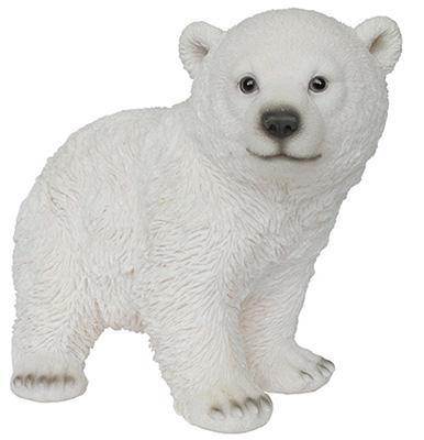 """10.75"""" Stand Polar Bear"""