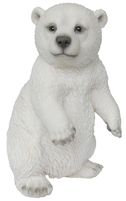 "7.5"" Dancing Polar Bear"
