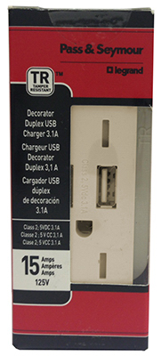 ALM Combo USB Charger - Woods Hardware