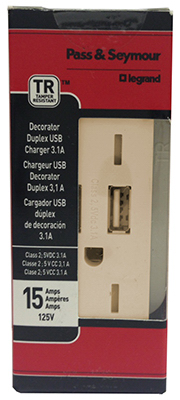 IVY Combo USB Charger - Woods Hardware