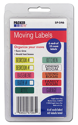 60CT Moving Labels