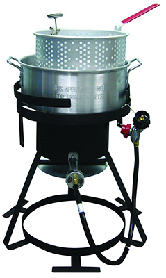 10QT ALU Fish Fryer