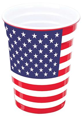 16OZ American Flag Cup