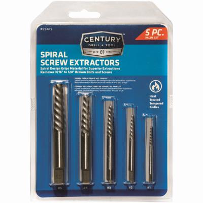 5PC Spiral Scr Ext Set