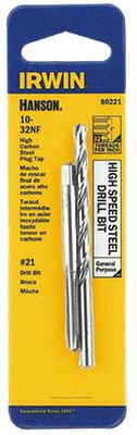 #10x32 NF Tap/Drill Set