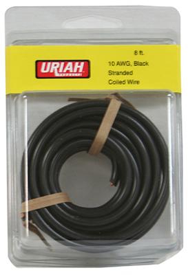 8 BLK 10AWG Prim Wire