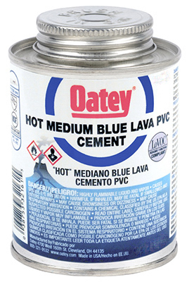 4OZ BLU Lava PVC Cement