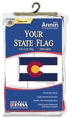 3x5 Colorado State Flag
