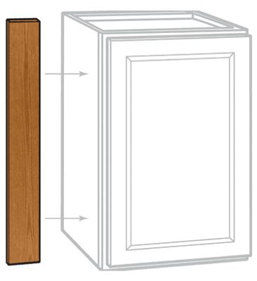 3x30x3/4 Oak Filler