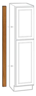 3x91 Oak Pantry Filler