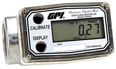3GAL/30GAL Fuel Meter