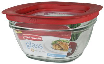 4C Glass Food Storage
