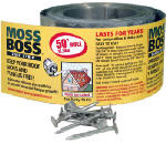 Zinc Moss & Mildew Preventer, 2.67-In. x 50-Ft.