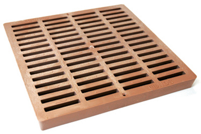 12x12Sand SQ Poly Grate