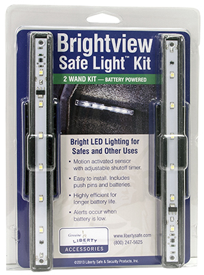 Safe LGT Kit/2 Lights