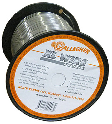1/4Mile ALU Wire Fence
