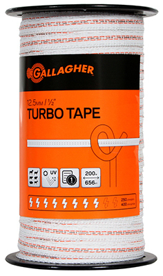 1/2x656 WHT Turbo Tape
