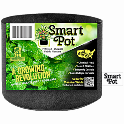 2GAL BLK Smart Pot