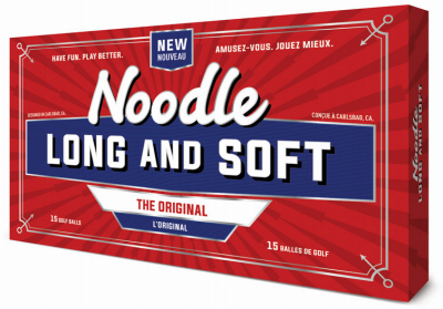15PK Noodle Golf Balls