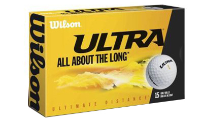 15PK Wilson Golf Balls