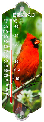 "10""Cardinal Thermometer"