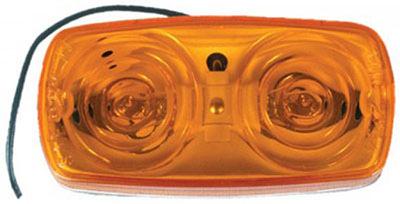 4x2 Amb Marker Light