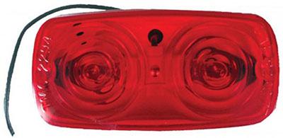 4x2 RED Marker Light