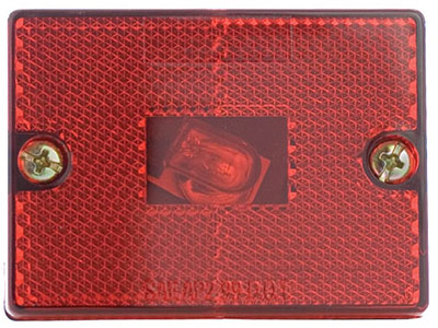 RED Stud Trailer Light