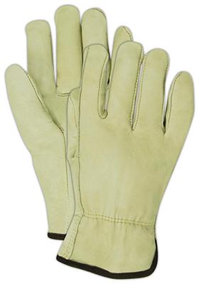 MED Cowhide LTHR Glove