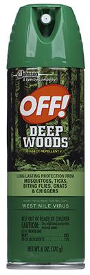 Off! 6OZ Deep Woods - Woods Hardware