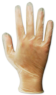 100CT MED Vinyl Glove