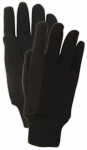 MAGID GLOVE & SAFETY MFG. T92PTXL Extra Large, 9 OZ, Brown Jersey Glove, With Knit Wrist