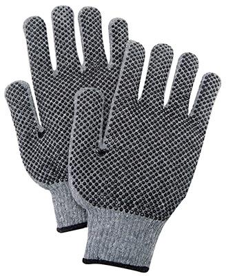 LG GRY Knit Util Glove