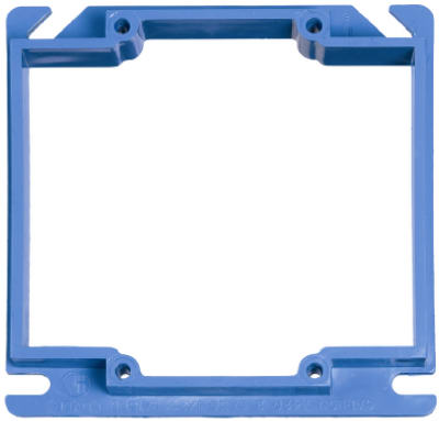"""4"""" SQ 2G 1/2 Rise Cover"" - Woods Hardware"