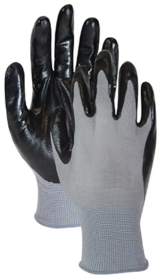 5PK BLK/GRY Glove