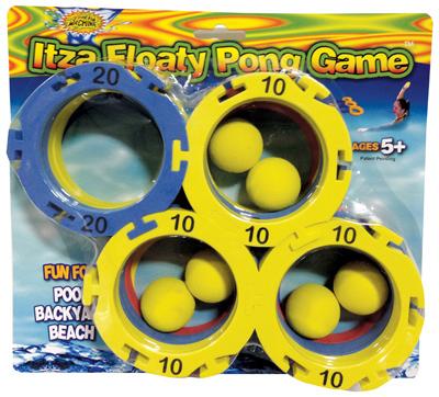 Itza Floaty Pong Game