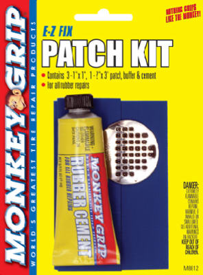 EZ 6PC Bike Patch Kit