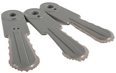 3PC BRSH Cutter Blade