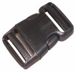 """TURF INC B1 1"""", Side Release Strap Buckle, Male-Female, Wide Webbing Plastic Buckle"""
