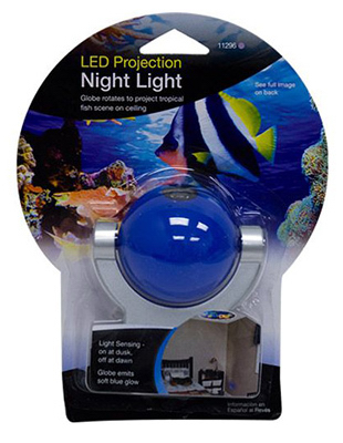 Fish Proj Night Light