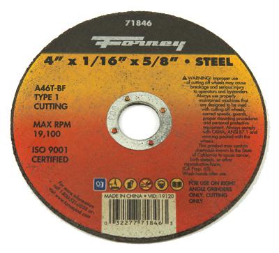 4x1/16x5/8 T1Cut Wheel