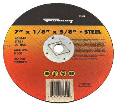 7x1/8x5/8 MTL Cut Wheel